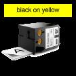 DYMO 1868771 XTL universele vinyl tape 12mm zwart op geel