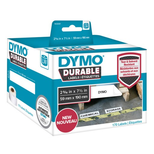 Dymo 1933087 duurzame LabelWriter etiketten 59x190mm