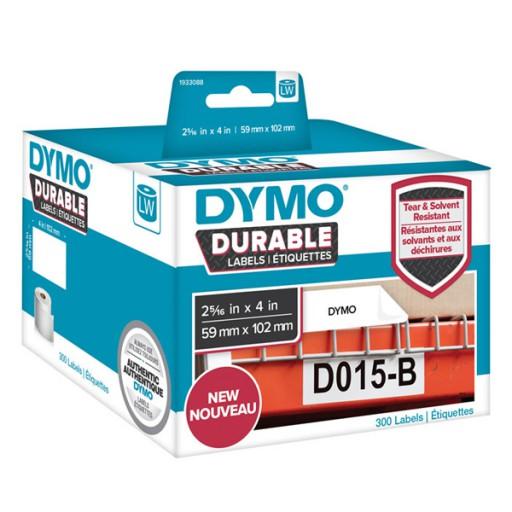 DYMO 1933088 duurzame LabelWriter etiketten 59x102mm