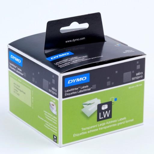 99013 Brede transparante etiketten