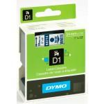 Dymo 53714 D1 Tape 24mm x 7m blauw op wit